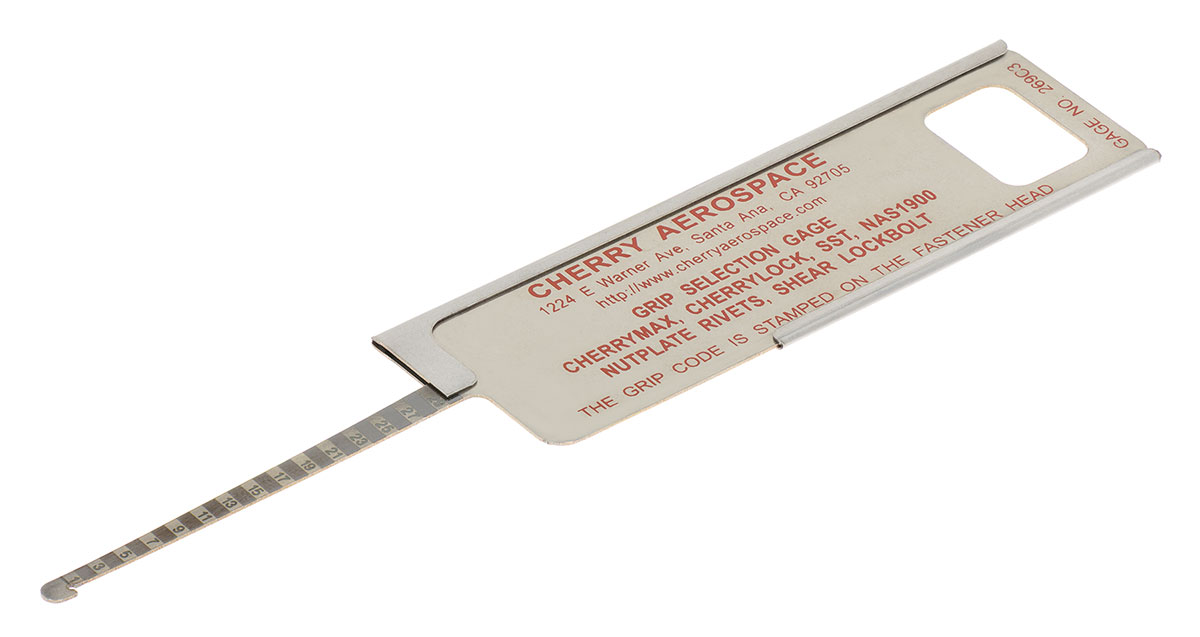 CHERRYMAX GRIP GAUGE from Aircraft Tool Supply