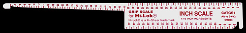 HI-LOK GRIP GAUGE (2-612)