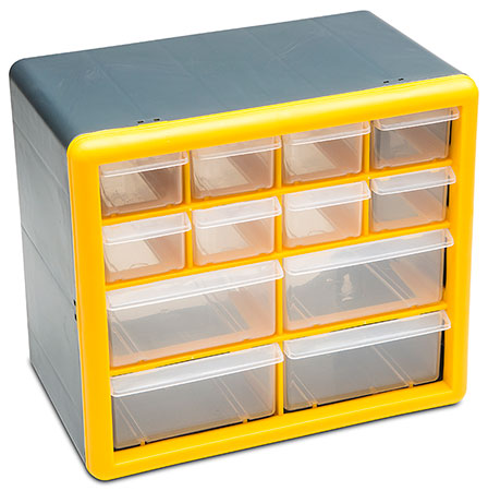 MULTI-PURPOSE 12 DRAWER ORGANIZER (21269)
