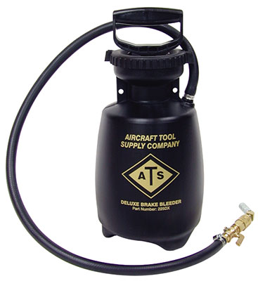 Brake Bleeder Tank From Aircraft Tool Supply