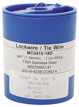 SAFETY LOCK WIRE (.032) (302-32)