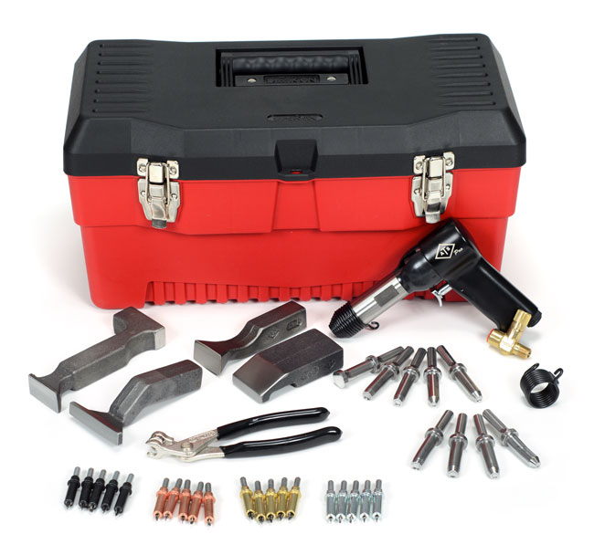 AIRCRAFT MECHANICS RIVETING KIT (2X) (2XKT)