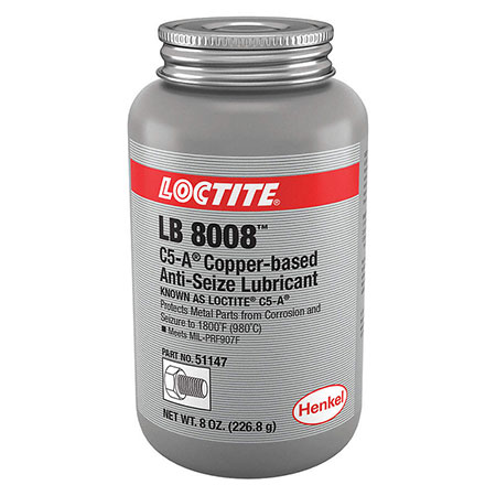 ANTI SEIZE, COPPER LOCTITE 8OZ (51147)