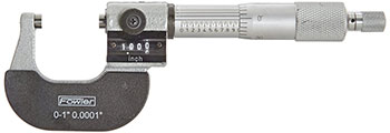 FOWLER® DIGITAL OUTSIDE MICROMETER, (0-1) (52-224-001)