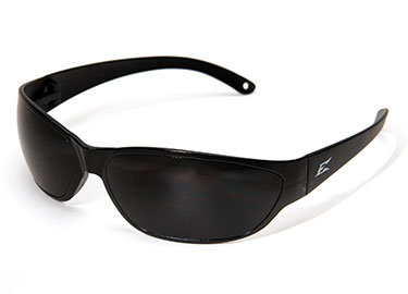 SAVOIA SAFETY GLASSES BLACK W/ SMOKE (AKE116)