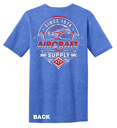 MEDIUM P-51 MUSTANG DESIGN T-SHIRT (SHIRT18-M)