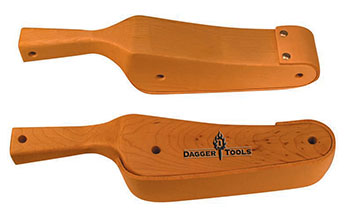 WOODEN SLAPPER (MEDIUM CURVE FACED ) (DTSLP2)
