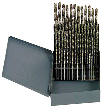 A TO Z LETTER SIZE COBALT DRILL BIT SET (012-C26A)