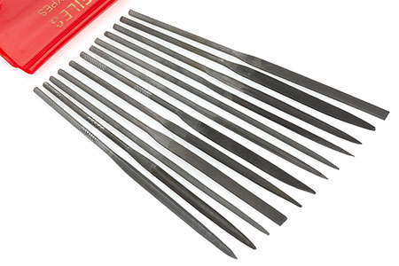 SWISS PATTERN NEEDLE FILE SETS (S475)