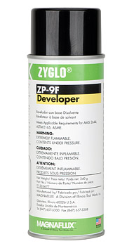 MAGNAFLUX® ZYGLO DEVELOPER (12oz) (ZP-9F)