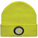 RECHARGEABLE LIGHT YELLOW BEANIE (BE02-Y)