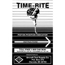 TIME-RITE® INSTRUCTION BOOK (I249)